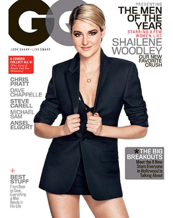 Shailene Woodley - GQ Magazine Cover (December2014)