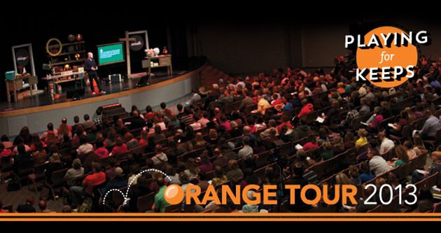 Memorable Quotes and A Brief Recap of The Orange Tour 2013 | ellecampbell.org #youthmin #stumin