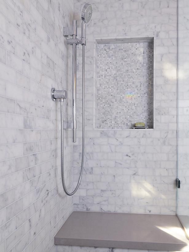 Web Photo Gallery photos of white and gray marble shower Designers u Portfolio
