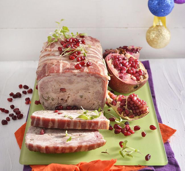 This pork and chicken terrine makes a great starter