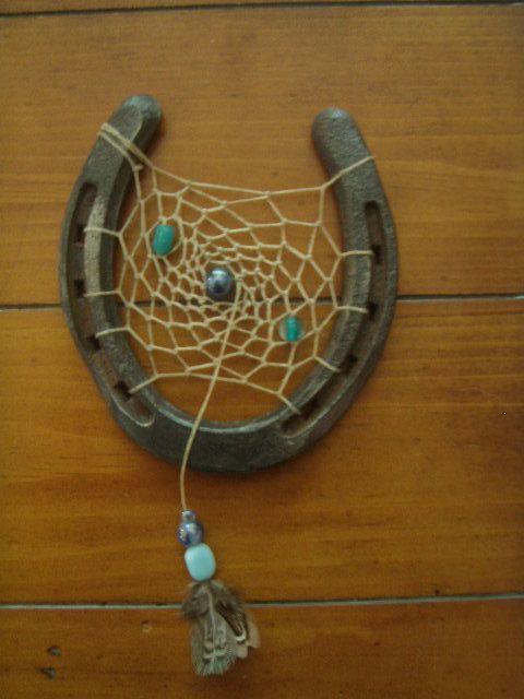 Horse Shoe Dream Catcher by AmberNRomero on Etsy, $20.00