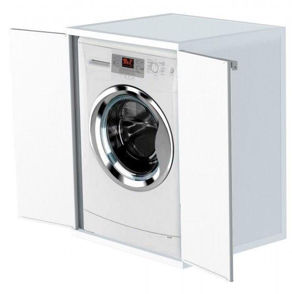 Fresh Waschmaschinenschrank Trocknerschrank Kunststoffschrank Haushaltsschrank Wei in M bel u Wohnen M bel Badm belsets eBay