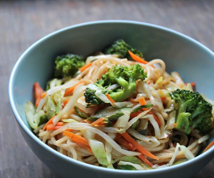 vegetable chow mein | Food Porn | Pinterest