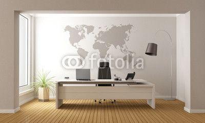 #Współczesny #design do #biura #naklejka na #ścianę z #grafiką