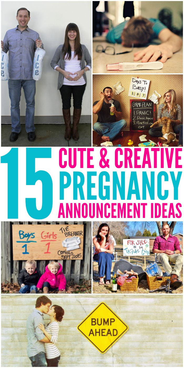 15 fun ways to tell everyone you u0026 39 re pregnant