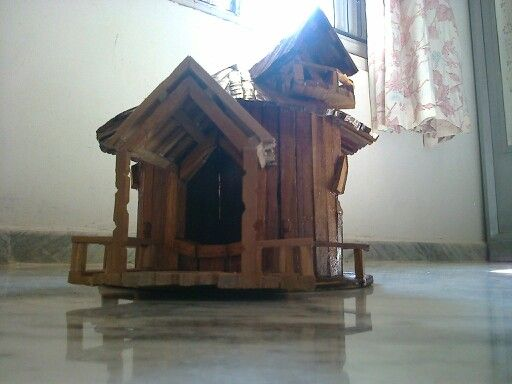 wooden home
