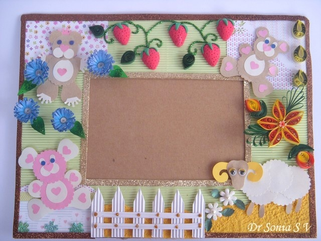 Punch art and quilling...so cute!