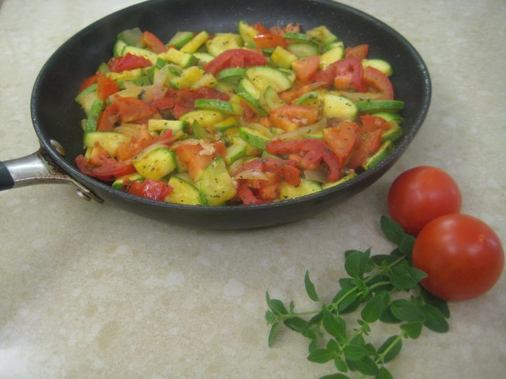 Mexican Squash and Tomatoes