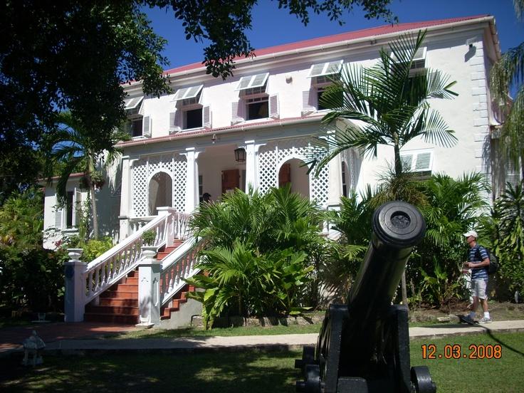 Barbados plantation house