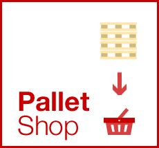Buy Pallets online- our internet shop is aimed at people wanting small quantities (even jut 1!)  www.UniversalPallets.com