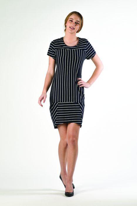 Two-way Striped Dress $219