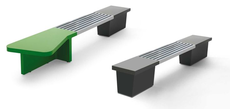 Abracadabra modular bench - Metalco Mobiliar