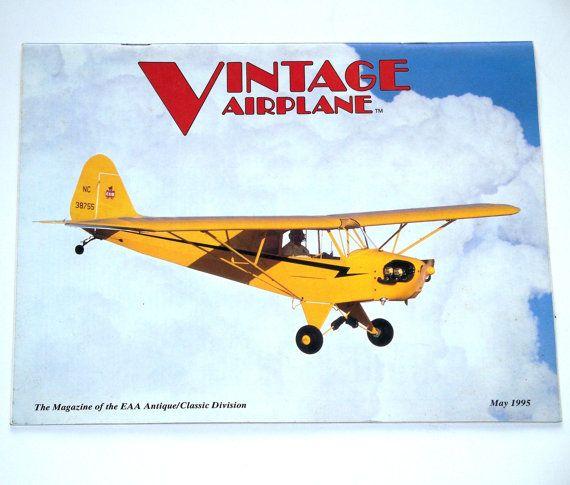 Vintage Airplane Magazine May 1995 Vol. 23 No. 5 by FairfaxDavis