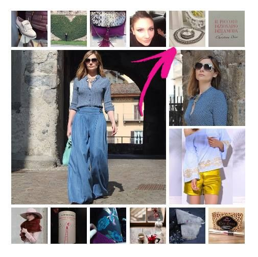 Su Instagram la primavera/estate 2015 secondo la fashion blogger Valeria Arizzi sul suo Coco et La vie en rose!  Un hippie chic look per la Primavera, che rivela l'amore per le tendenze moda anni Settanta. Una lettura fashion e i gioielli super glamour Luca Barra.