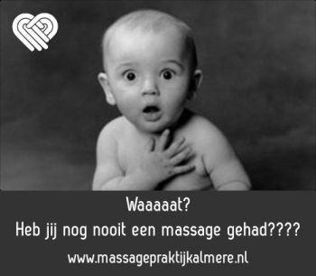 Waaaat? Nog nooit een massage gehad?