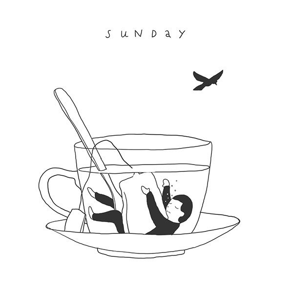 Week of sleeping cups on Behance | Ilya Kazakov