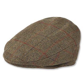 Yorkshire Driving Cap Classic style and comfort define this men's tweed flat cap. orvis.co.uk