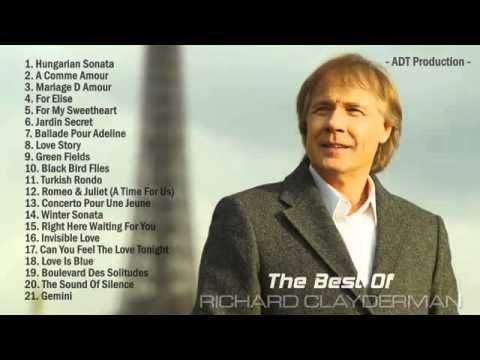 The Best of Richard Clayderman Escúchala por aquí youtube.com/c/SergioContrerasGuillén/live ÚNICO