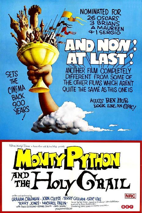 Monty Python and the Holy Grail - movie poster