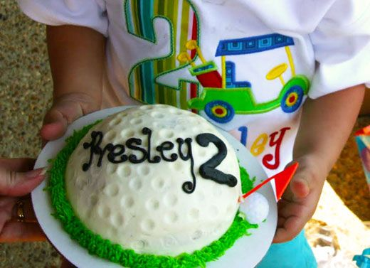 Golf Party Cake