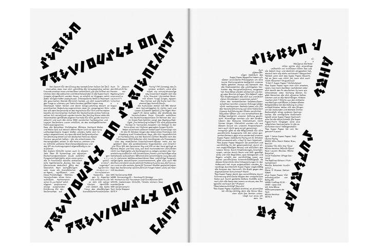 layout / éditions by Bureau Mirko Borsche (Germany, munich)