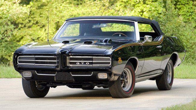 Pontiac Gto The Judge 1969 Triple Black V8 Engines Carros Hot Rods Auto
