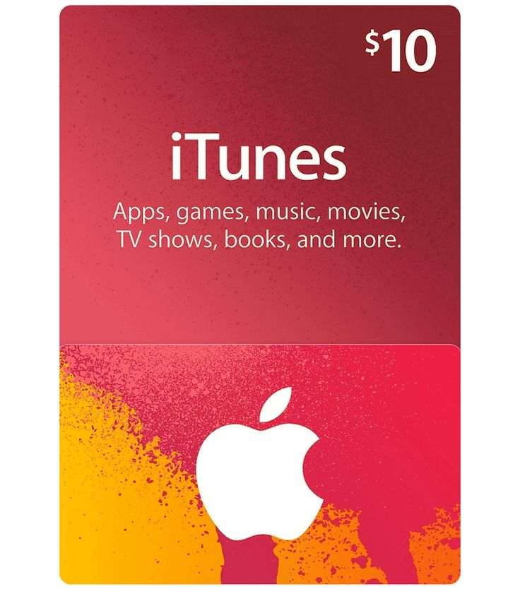iTunes Gift Card $10 with Email Delivery. Worldwide payments accepted, with PayPal, VISA, MasterCard, and many more local payment options.