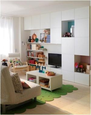 IKEA Oturma Odası: Oturma odanızda artık her eşyanıza yer var!