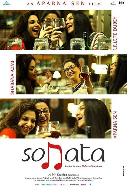 Sonata (2017) Hindi 720p HDRip 800MB Release Date: 21 April 2017 (India) Director: Aparna Sen   Genre: Drama Cast: Shabana Azmi, Lillete Dubey, Aparna Sen Resolution: 1280×546   File Size: 799.20 MiB   Runtime: 1h 38mn