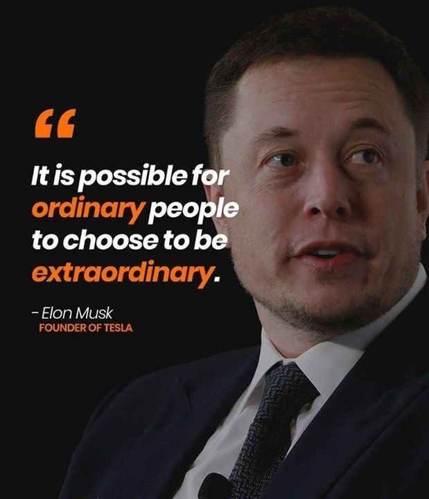 Successful Entrepreneurs Like Elon Musk Steve Jobs And Bill Gates Have Been Quoted Entrepreneur Quotes Mindset Elon Musk Quotes Entrepreneur Inspiration Quotes