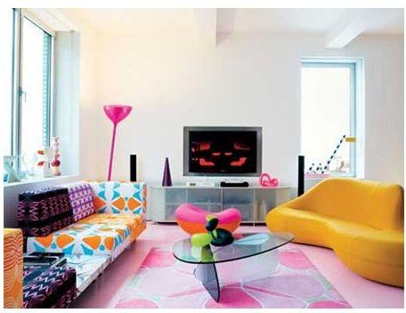Interiores kitsch for Design postmoderno