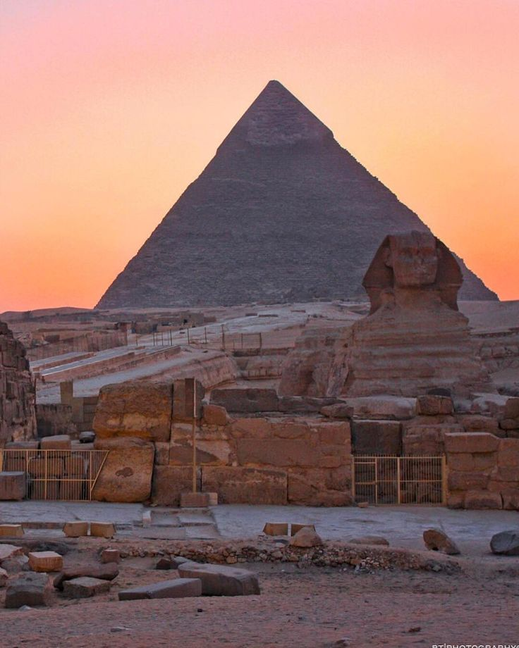 The Great Pyramid of Giza, Cairo, Egypt