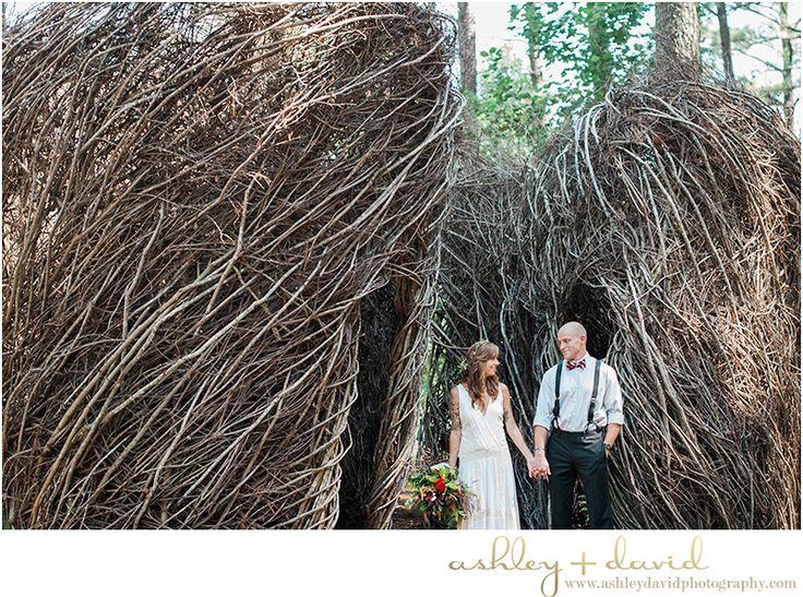 Cape Fear Botanical Garden Wedding Photo Fayetteville Nc