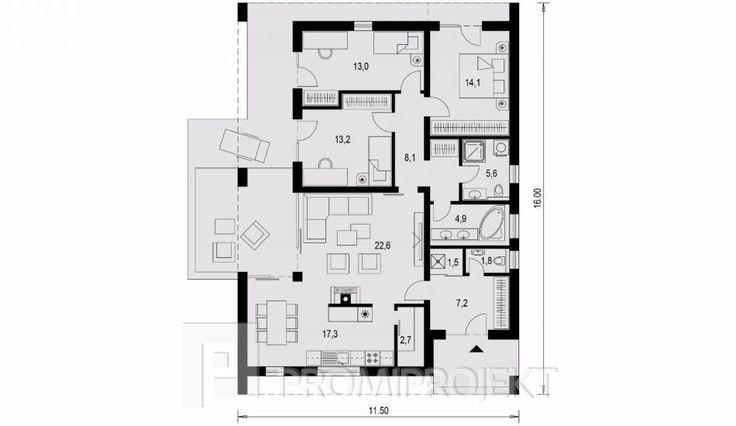 Projekty domov - Laguna 415