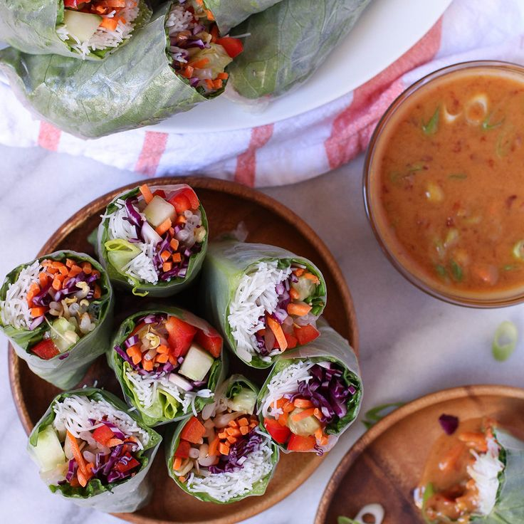 Best 25 vietnamese delivery ideas on pinterest fresh flower veggie spring rolls with spicy peanut dipping sauce vegan gluten free leave out maple syrup forumfinder Image collections
