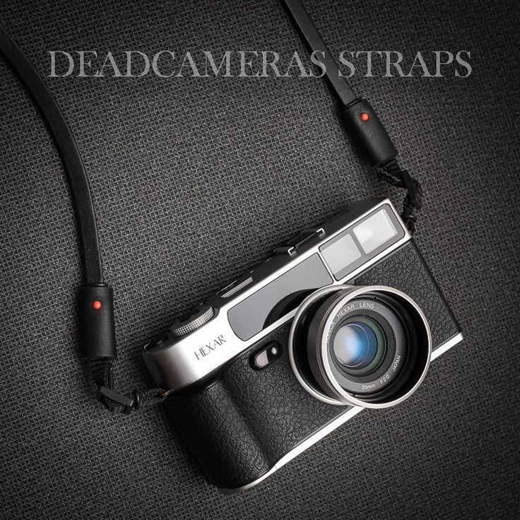Deadcameras Allfit strap & Konica Hexar AF