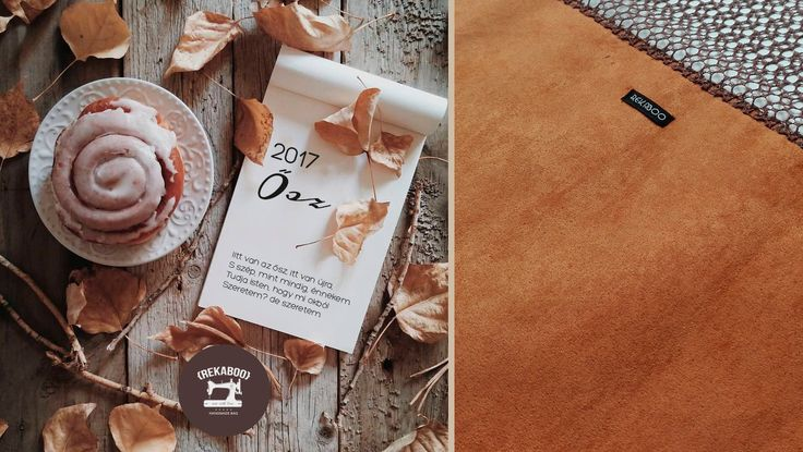 Autumn colors by Rekaboo bag.