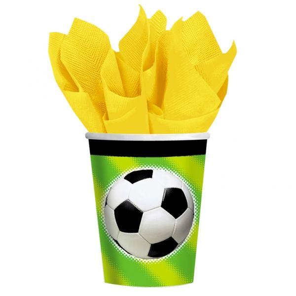 Kubeczki papierowe Piłka Nożna