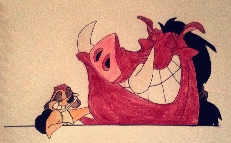 Timon and Pumbaa!!