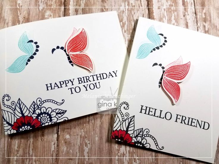 Friday Funday! Stamped Butterflies Using Leaves! - stampTV