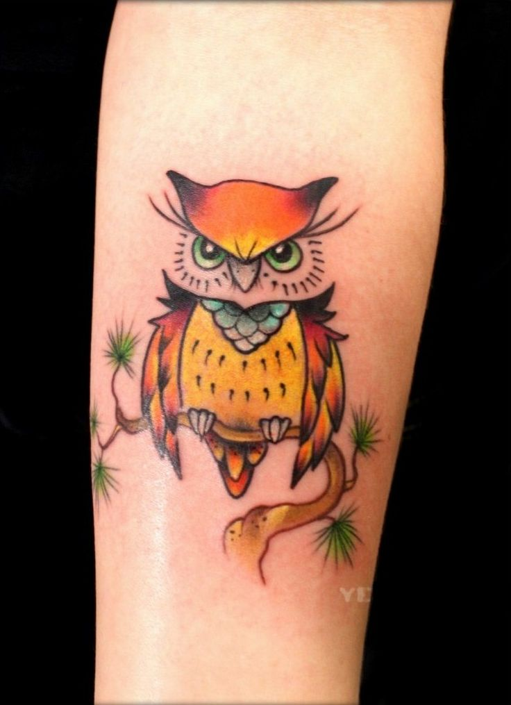 Colorful-Owl-Tattoos-Images.jpg (741×1022)