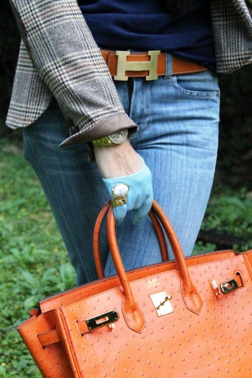 Perfect Combo: Hermes Belt and Birkin