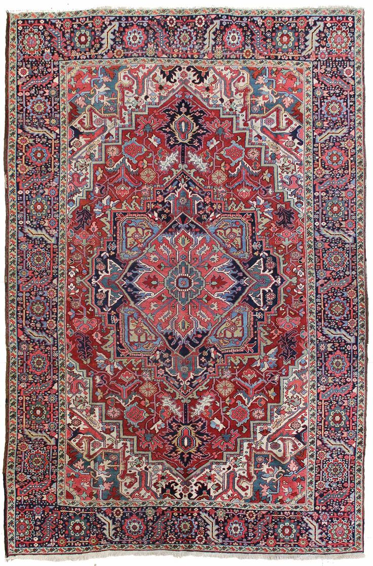 Find This Pin And More On Persian Heriz Serapi Rugs By Lhenschien.