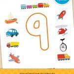 Последняя цифра числового ряда - 9! Теперь ваш малыш сможет составить любое число!Обучайтесь с удовольствием в мире знаний сайта Веселое обучение. Дополнительные материалы вы найдете по ссылке.