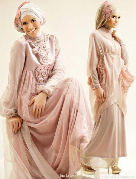 Hijab Wedding Gowns by Irna La Perle