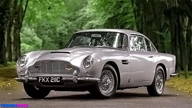 Aston Martin Launching Db5 James Bond Cars Aston Martin Aston Martin Db5