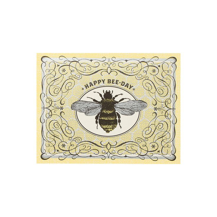 Bee Birthday Card in Sale SHOP House+Home at Terrain