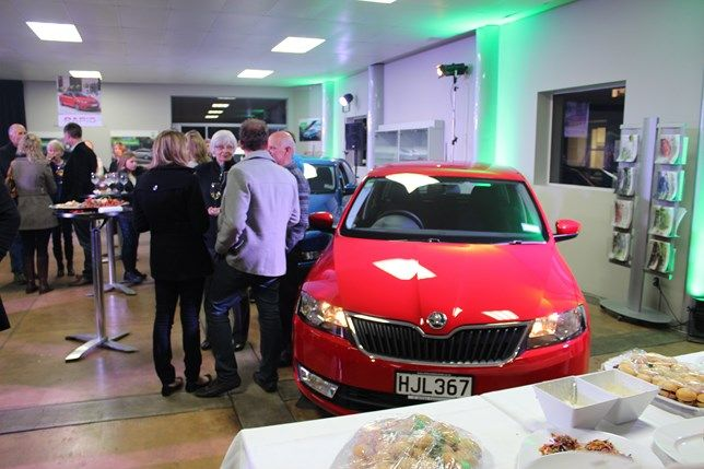 Launch event for the new Rapid Spaceback.