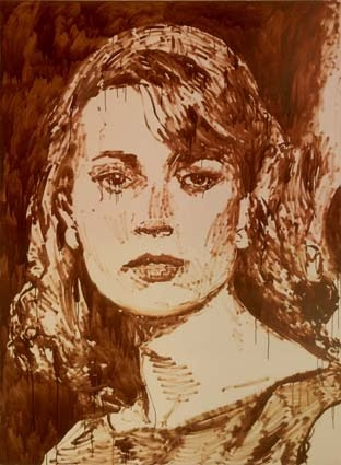 """""""Sylvia,"""" 2004, by Merlin Carpenter"""