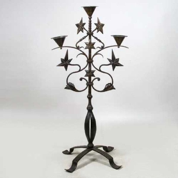 German Max Krauz Wrought Iron